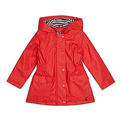 J by Jasper Conran - Girls' red fisherman coat