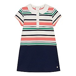 J by Jasper Conran - Girls' multi-coloured ribbed striped dress