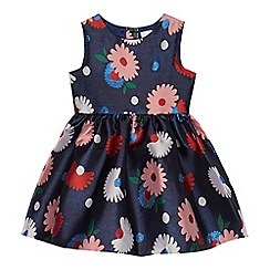 J by Jasper Conran - Girls' navy floral dress