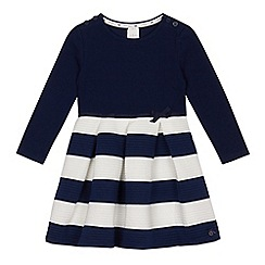 J by Jasper Conran - Girls' navy ribbed dress