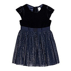 J by Jasper Conran - Girls' navy tulle dress
