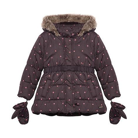 RJR.John Rocha - Girl+s dark purple embroidered jacket