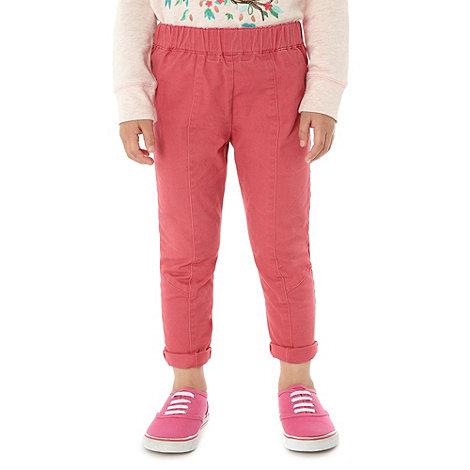 RJR.John Rocha - Designer girl+s coral slim trousers