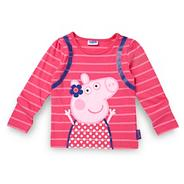 Girl's pink 'Peppa Pig' t-shirt