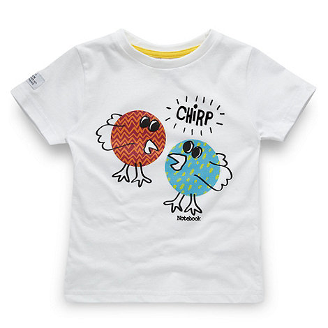 BBC Children In Need - Children+s white bird printed t-shirt