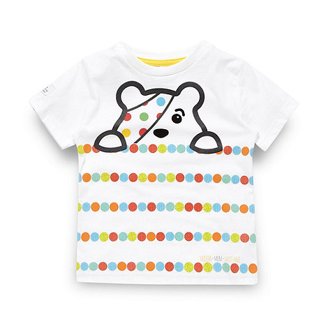 BBC Children In Need - Children's white bird printed t-shirt