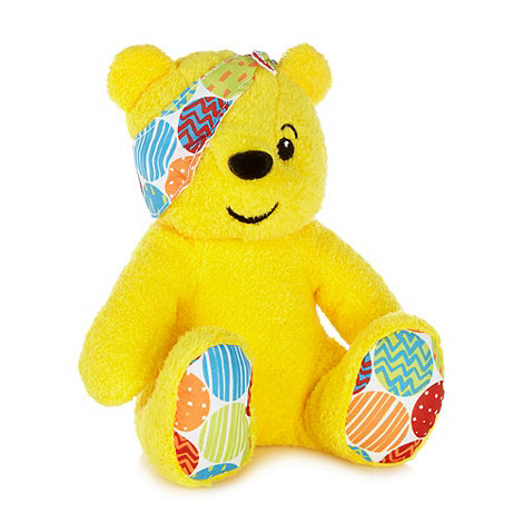 BBC Children In Need - Yellow plush Pudsey bear