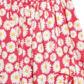 bluezoo - Girl+s pink shirred daisy dress Alternative 2