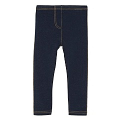 bluezoo - Girl's blue jersey jeggings