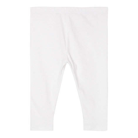 bluezoo - Girl+s white cropped leggings