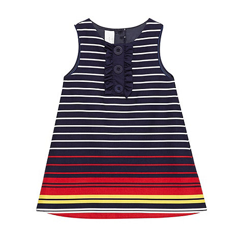J by Jasper Conran - Designer babies blue striped dress