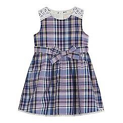 Mantaray - Girls' lilac checked dress