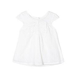 RJR.John Rocha - Designer girl's white embroidered dress