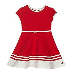 J by Jasper Conran - Girls' red jersey dress