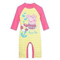 Peppa Pig - Girl's pink 'Peppa' sunsafe