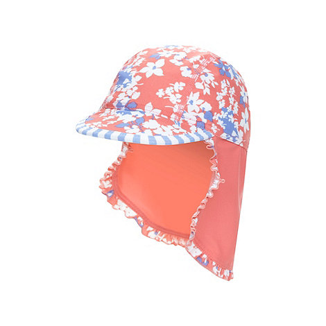 Mantaray - Girl's pink floral hat