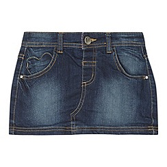 bluezoo - Girl's blue denim skirt