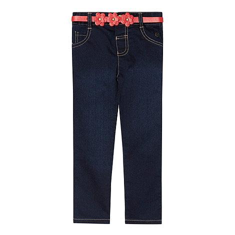 J by Jasper Conran - Designer girl+s blue straight leg jeans