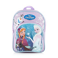 Disney Frozen - Purple girl's 'Disney's Frozen' heart backpack