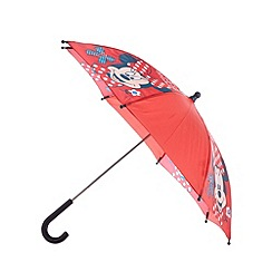 Minnie Mouse - Girl's red 'Minnie Mouse' umbrella