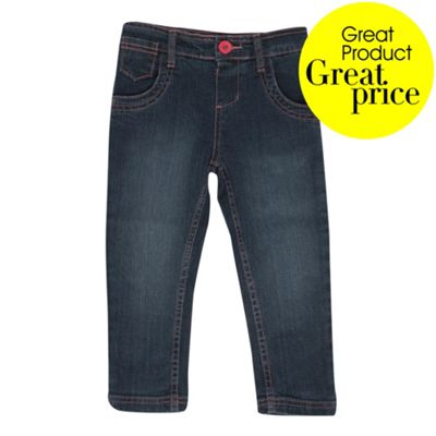 Girls Blue Stretch Jeans