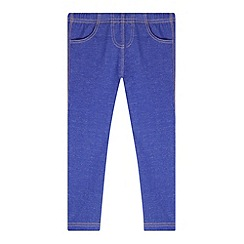 bluezoo - Girl's blue jeggings
