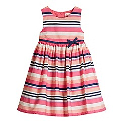 bluezoo - Girl's pink striped prom dress