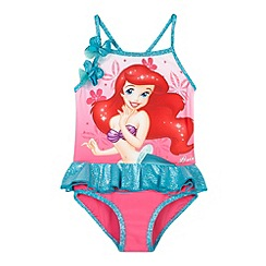 Disney Princess - Girl's pink 'Ariel' swimsuit