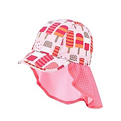 bluezoo - Girl's pink lolly hat