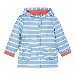 J by Jasper Conran - Designer girl's blue striped jacket