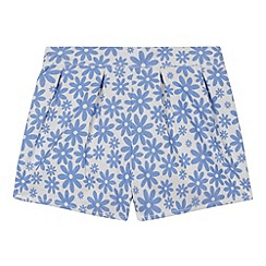 J by Jasper Conran - Designer blue floral shorts