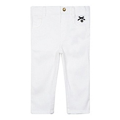 J by Jasper Conran - Designer girl's white cropped trousers