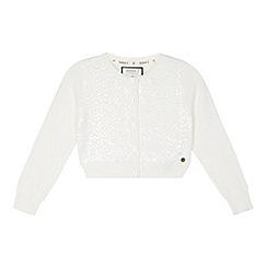 J by Jasper Conran - Designer white sequin cardigan