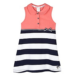 J by Jasper Conran - Designer girl's coral tennis dress