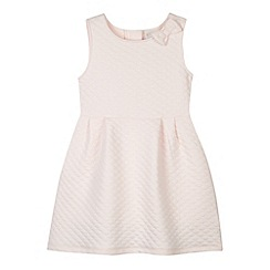 J by Jasper Conran - Designer girl's light pink textured jersey dress