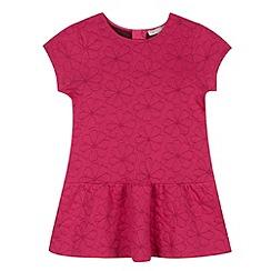 RJR.John Rocha - Designer girl's pink embroidered floral dress