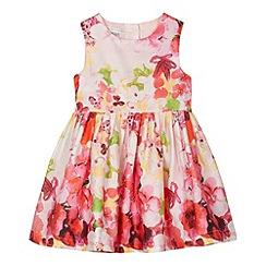 RJR.John Rocha - Designer girl's pink digital floral prom dress