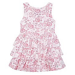 Mantaray - Girl's pink frilly skirt dress