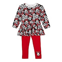 Minnie Mouse - Girl's red 'Minnie Mouse' set