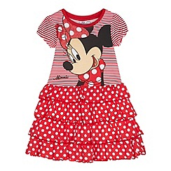 Minnie Mouse - Girl's red 'Minnie Mouse' dress