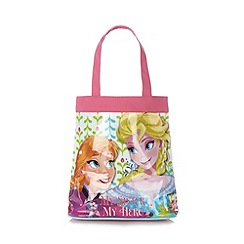 Disney Frozen - Girl's pink 'Frozen' tote bag