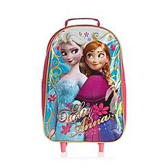 Disney Frozen - Girl's pink 'Frozen' roller suitcase