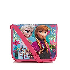 Disney Frozen - Girl's pink 'Frozen' messenger bag