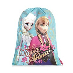 Disney Frozen - Girl's blue 'Frozen' trainer bag
