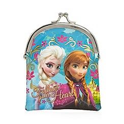Disney Princess - Girl's blue 'Frozen' coin purse