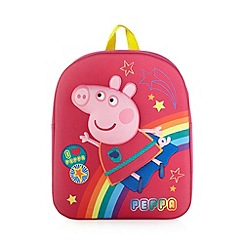 Peppa Pig - Girl's pink 'Peppa Pig' backpack