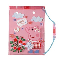 Peppa Pig - Girl's pink 'Peppa Pig' swim bag