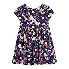 bluezoo - Girl's navy floral dress