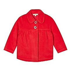bluezoo - Girl's red fleece jacket
