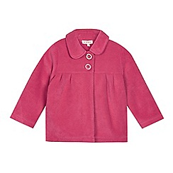 bluezoo - Girl's pink fleece jacket
